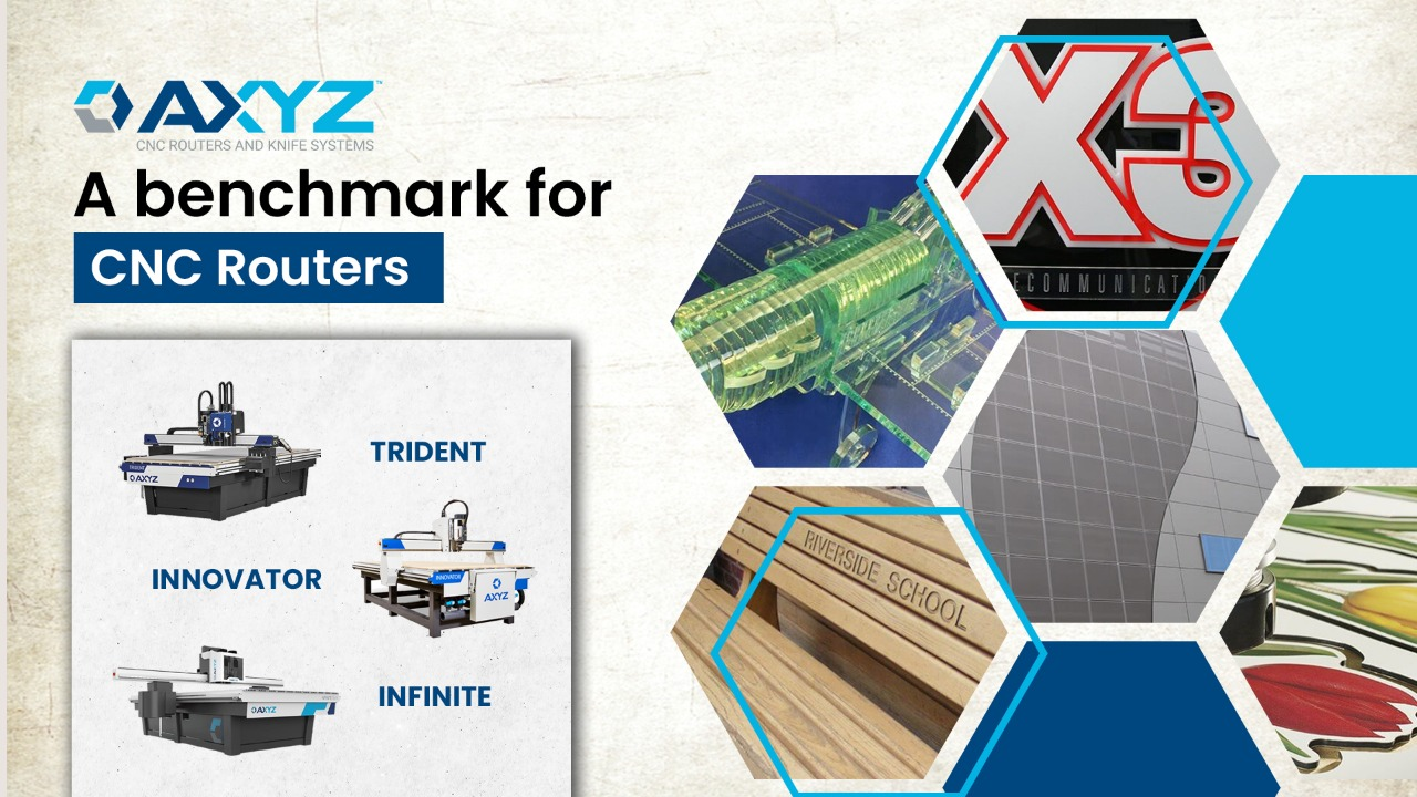 AXYZ  – A Benchmark for CNC Routers