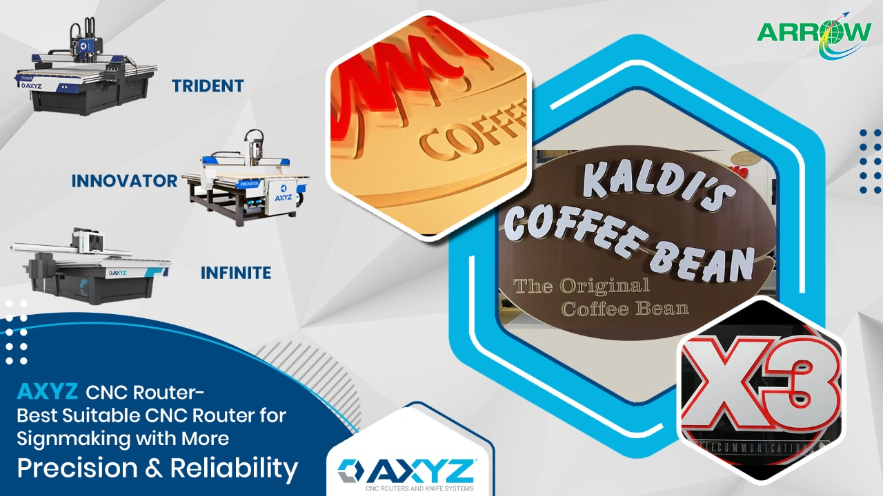 Best Suitable CNC Router for Signmaking with more precision & reliability