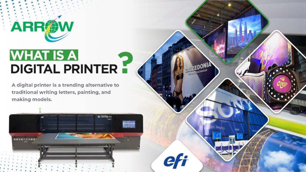 What Is A Digital Printer